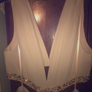 BCBG formal gown